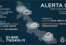 Emite PC nueva Alerta Gris por frente frío número 30