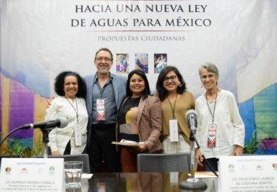 Impulsa Deisy Juan Antonio legislación en materia hidráulica