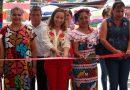 Acudió  Maria Luisa Vallejo a segunda feria del tamal en Jalapa de Díaz