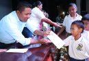 Dávila entregará 1,500 becas a alumnos en pobreza