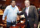 En Oaxaca Ericel Gómez es el delegado de Morena reafirma Ángel Domínguez