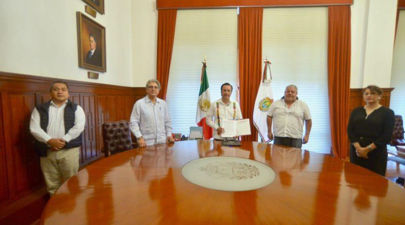 Gobierno del Estado y SEDATU firman convenio para mejoramiento urbano de Veracruz y Coatzacoalcos