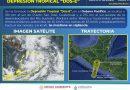 Se formó la Depresión Tropical DOS-E en el océano Pacífico