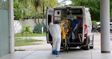 Realiza Salud el primer ingreso de paciente COVID-19 al CAME-Centro de Raqueta