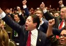 Legisladores federales  de la 4T al servicio de la mafia global