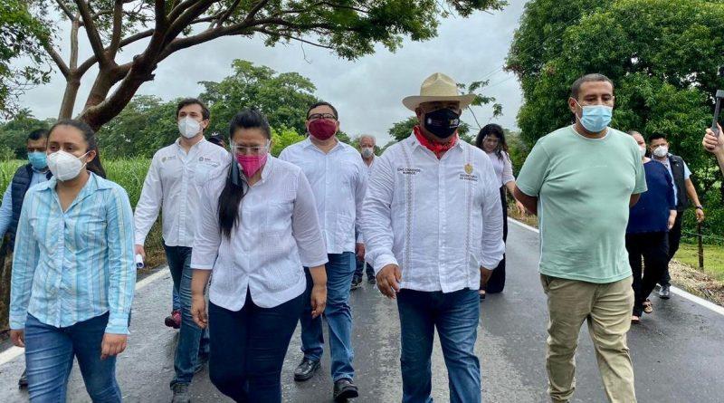 Eric Cisneros realiza gira de trabajo por la Cuenca del Papaloapan