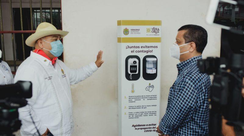 Con apoyo del gobierno estatal Raúl Hermida refuerza medidas contra Covid en Cosamaloapan