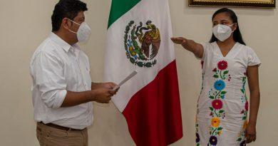 Nueva titular del Instituto Municipal de la Mujer es egresada del Tecnológico de Tuxtepec