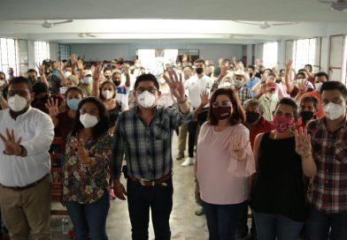 Los resultados en Coahuila e Hidalgo son un llamado para organizarnos y unirnos: Esteban R. Zepeta.