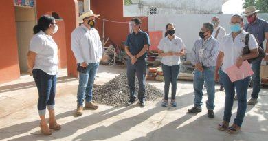 Rehabilita SEV plantel educativo con casi 60 años de antigüedad, en Lerdo de Tejada
