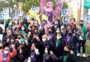 Feministas se manifiestan en varias ciudades de Veracruz