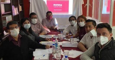 El CEE Morena Trabaja en la organización y la unidad, para la militancia y simpatizantes de Veracruz.