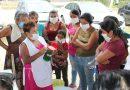 Macín Chico recibe a la brigada Acciones por la salud