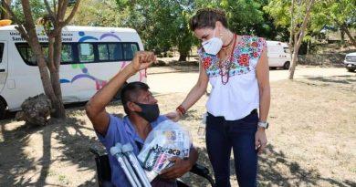 Con acciones en materia de Asistencia Alimentaria y rescate de espacios públicos, Oaxaca Crea, Construye y Crece