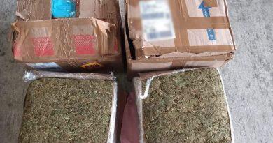 Decomisa SSP tres paquetes con droga, en Banderilla y Veracruz